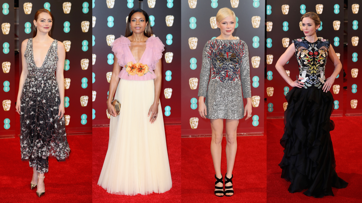 Don't they all look great? Photos: Chris Jackson/Getty Images