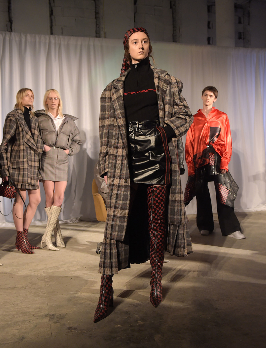 Misbhv Fall 2017. Photo: Jason Kempin/Getty Images