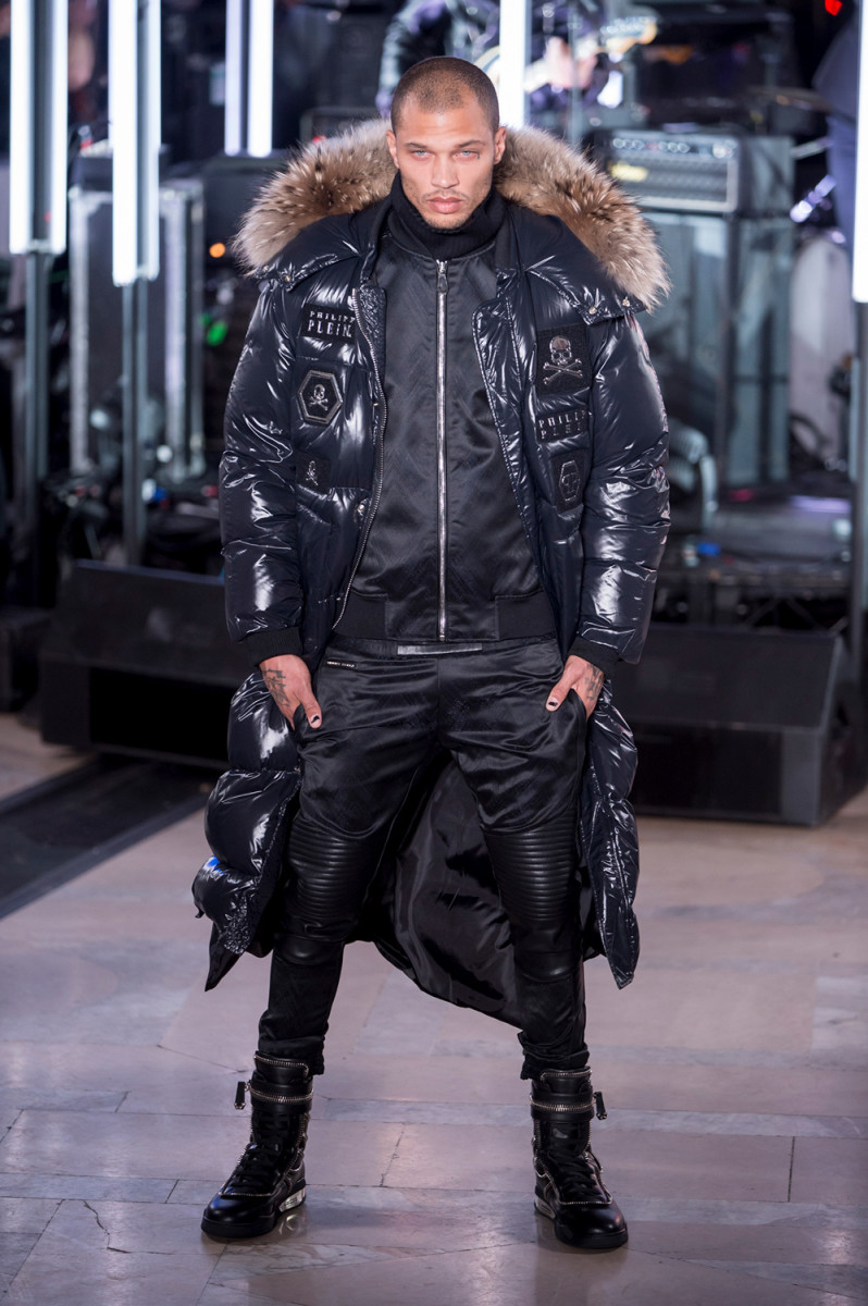 Jeremy Meeks at Philipp Plein. Photo: Imaxtree
