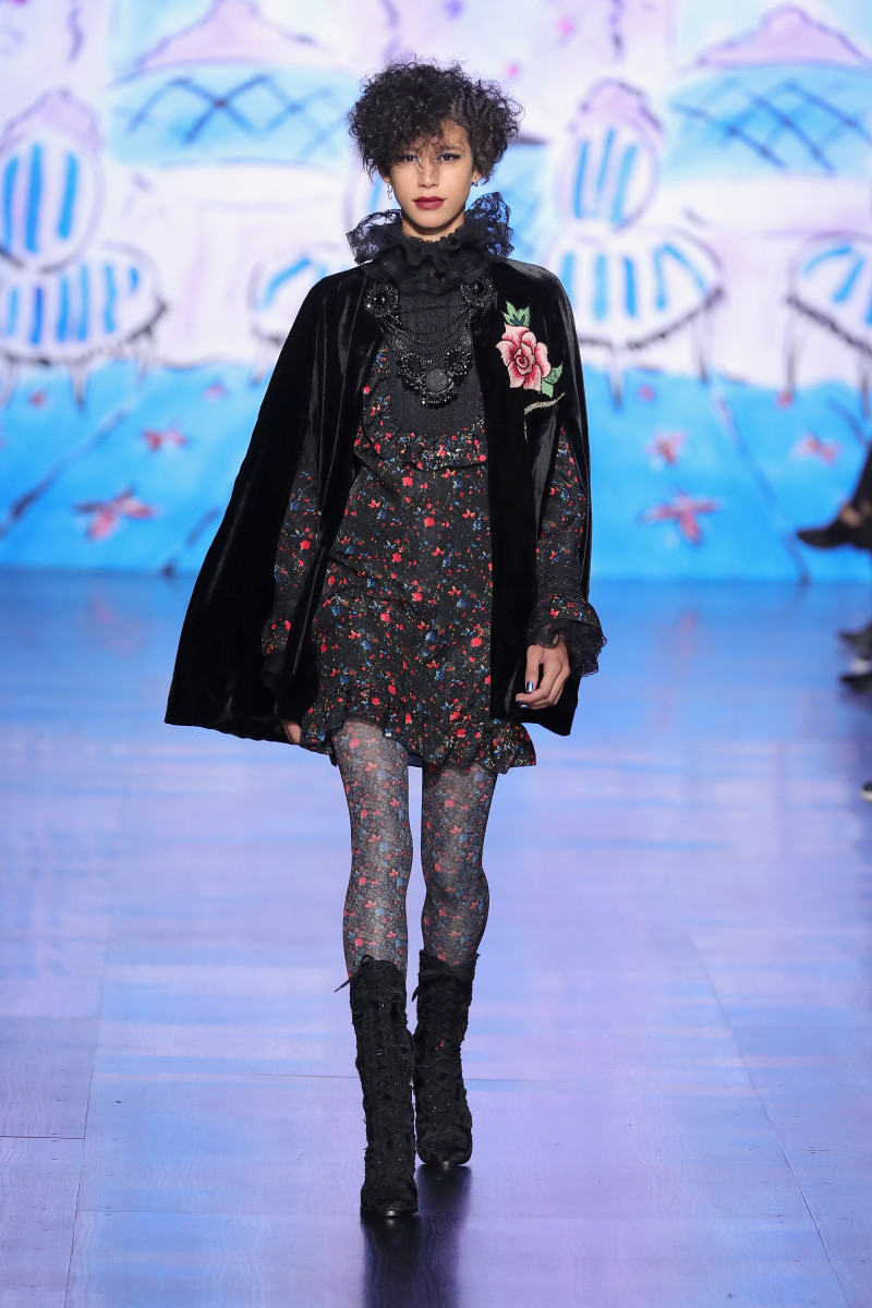Anna Sui Fall 2017. Photo: Neilson Barnard/Getty Images