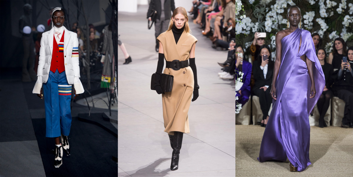 Looks from day seven of NYFW.