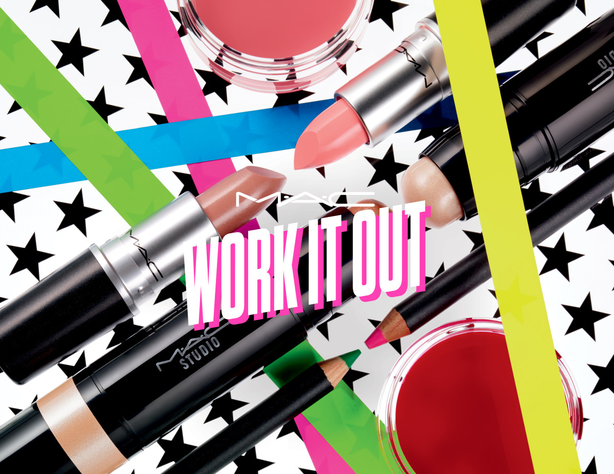 A visual from the MAC It Out collection. Photo: Courtesy of MAC Cosmetics