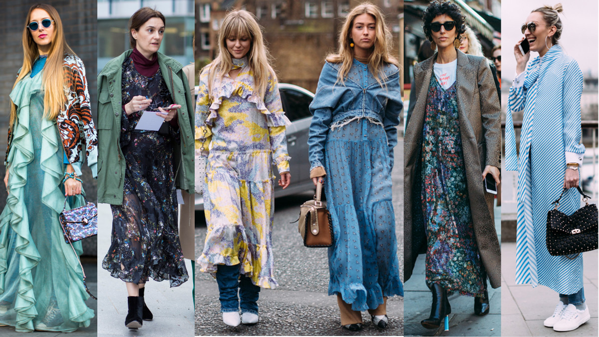 Layer your prettiest dress over anything. Photos from left to right: Imaxtree, Chiara Marina Grioni, Imaxtree (3)