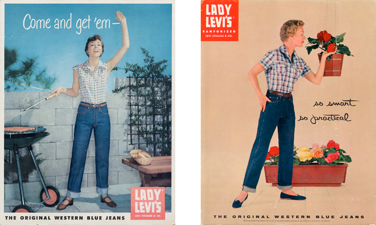 c69b405b Fashion History Lesson: The Bond Between Ladies and Levi's - Fashionista