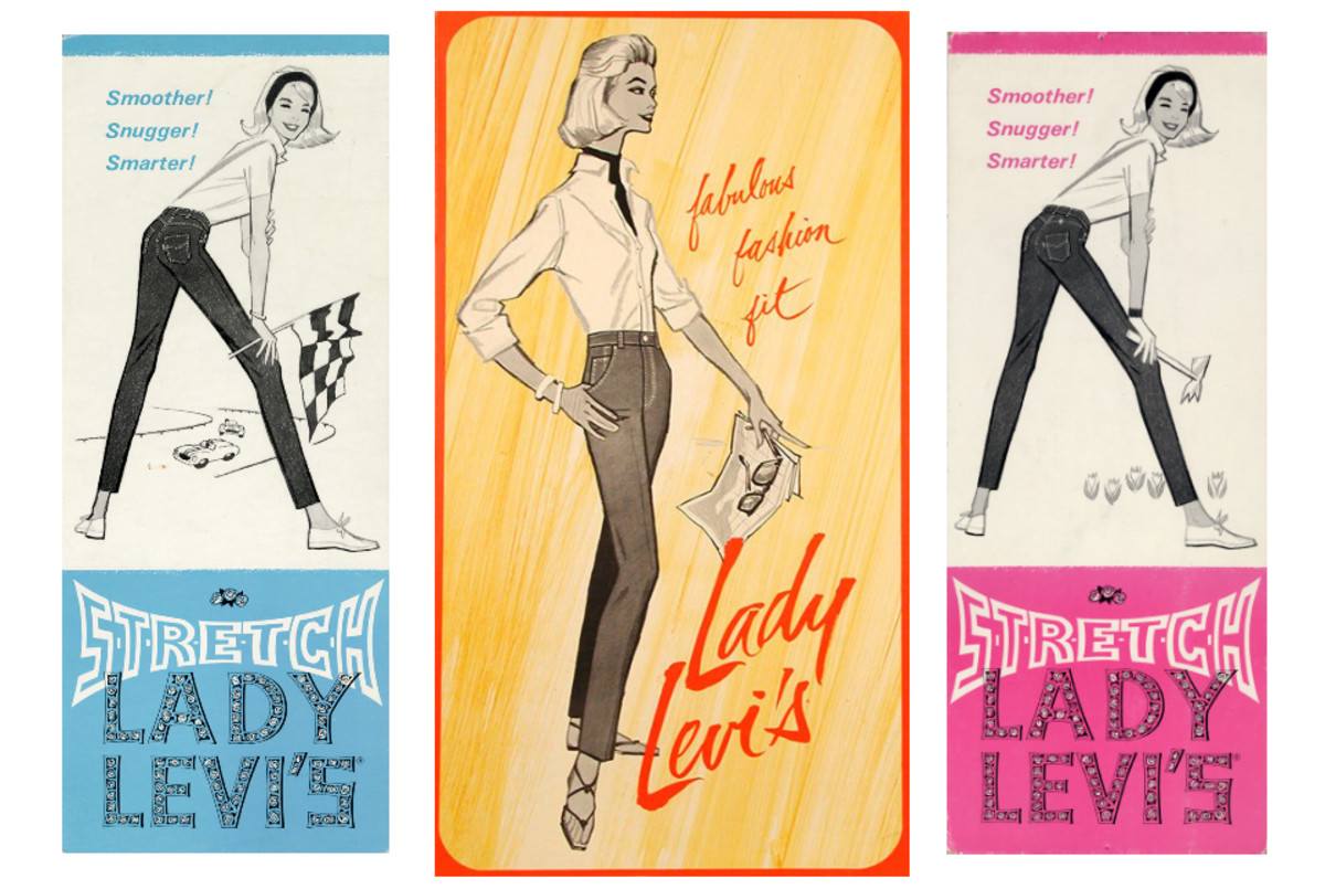 Advertising images from the early 1960s, courtesy of Levi's®
