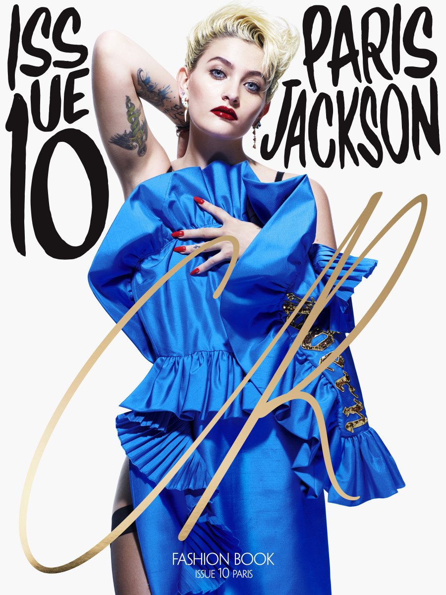 "Paris Jackson for ""CR Fashion Book,"" Issue 10. Photo: Mario Sorrenti/""CR Fashion Book"""