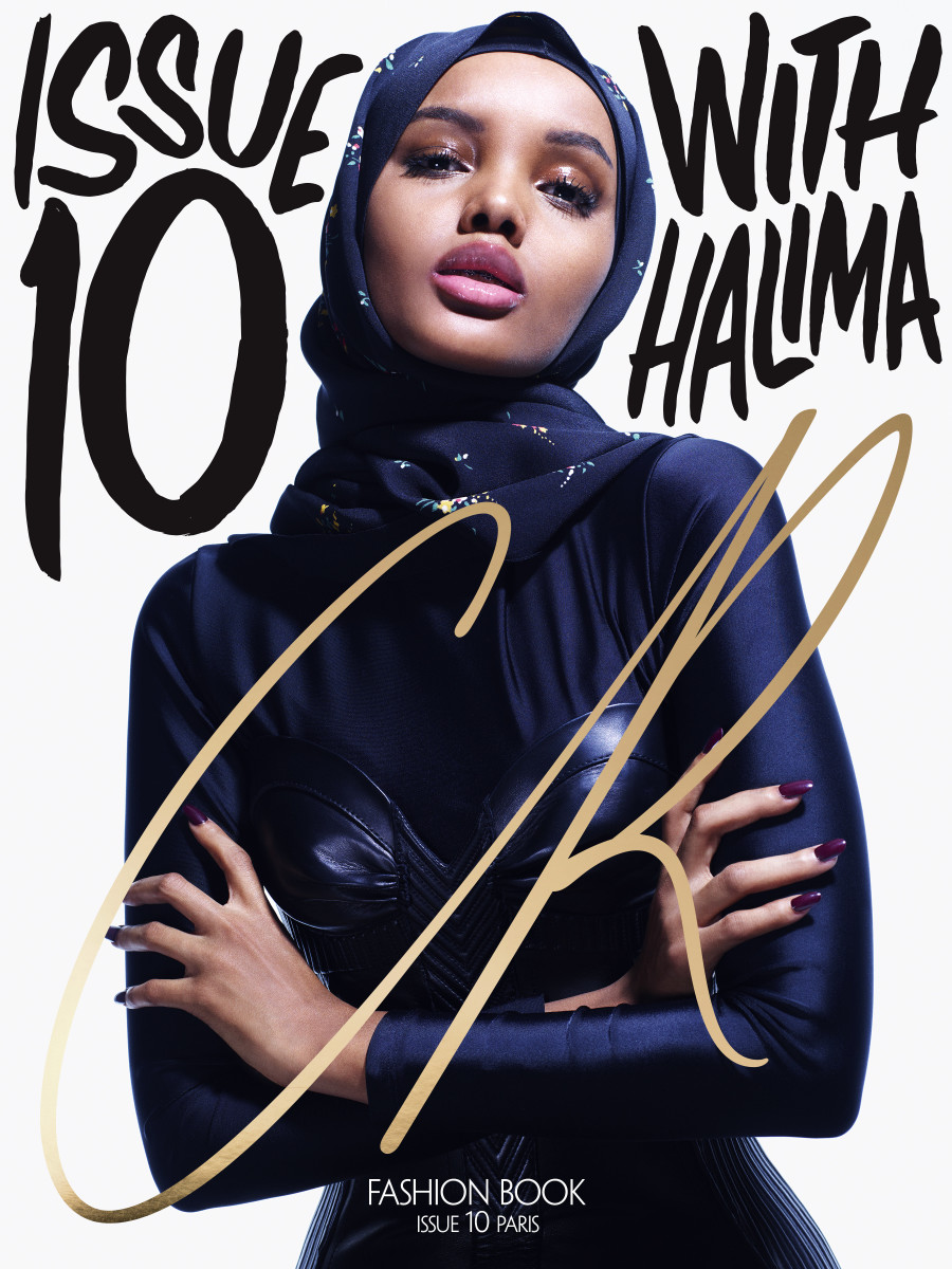"Halima Aden for ""CR Fashion Book,"" Issue 10. Photo: Mario Sorrenti/""CR Fashion Book"""