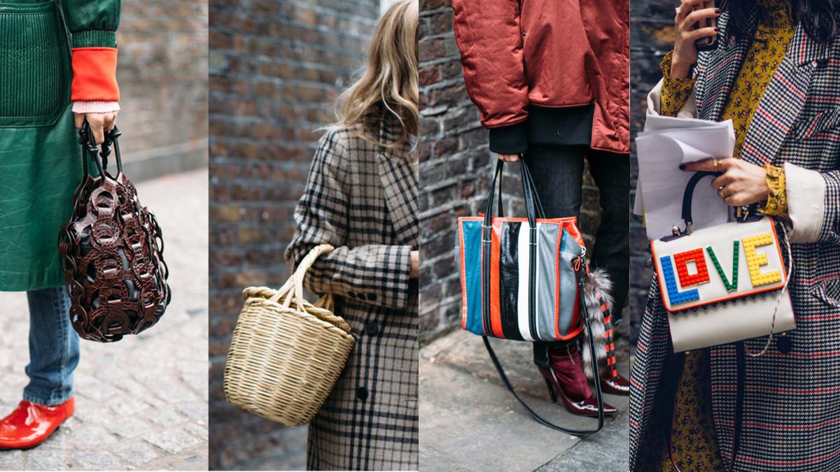 Holy handbags! Photos: Imaxtree (3), Moeez Ali/Fashionista
