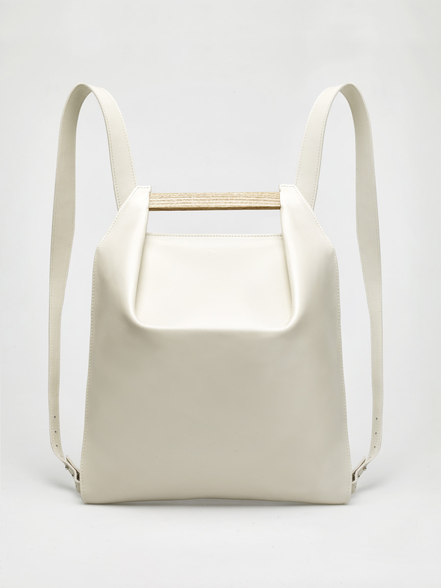 Pons mini backpacks, $690, available at Agneskovacs.