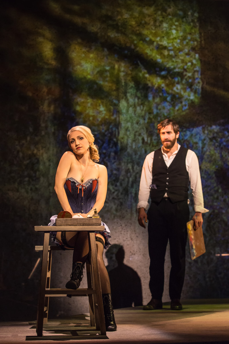 Annaleigh Ashford and Jake Gyllenhaal in costumes by Clint Ramos in 'Sunday in the Park With George.' Photo: Matthew Murphy