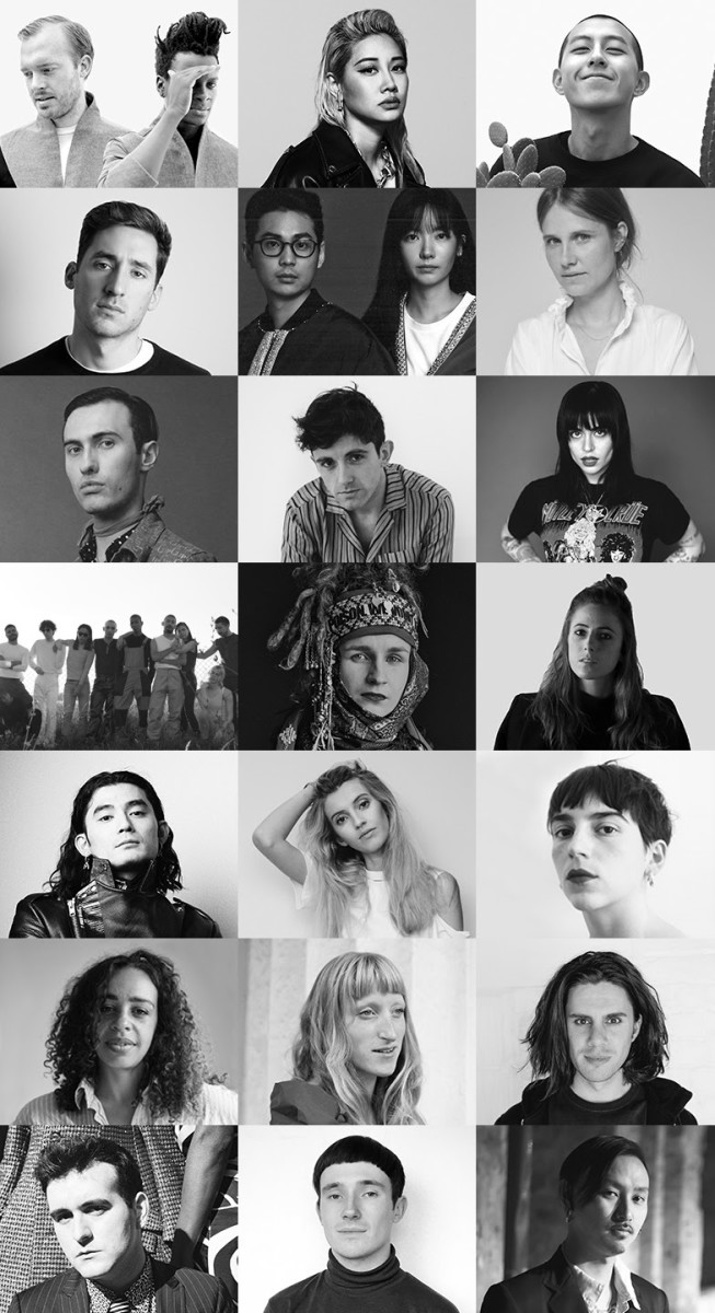 The 21 LVMH Prize finalists. Photo: courtesy of LVMH