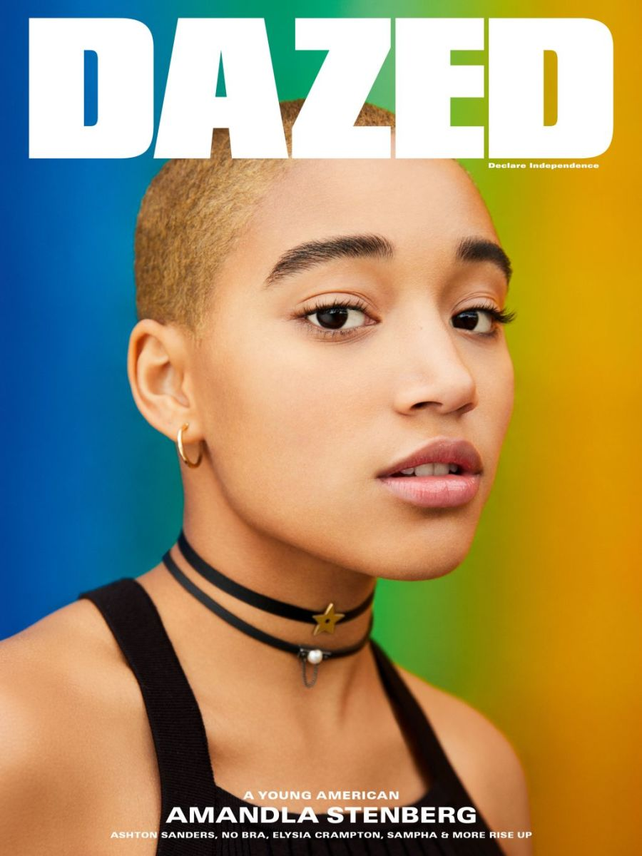 Amandla Stenberg for Dazed. Photo: Ben Toms/Dazed
