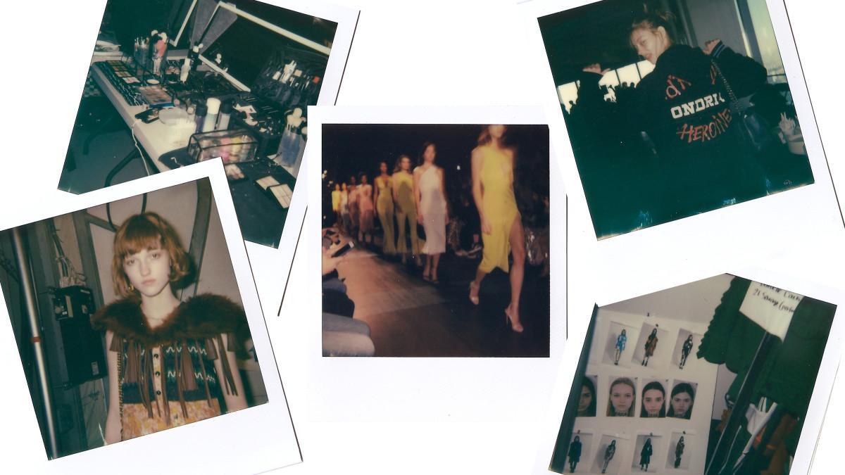 Long live the Polaroid! Photo: Composite