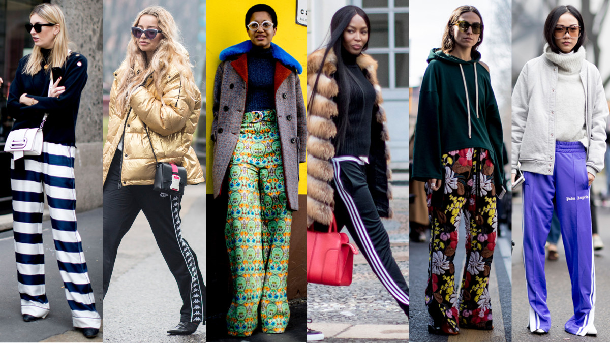 From Athleisure To Wide Legged Pants Were A Weekend