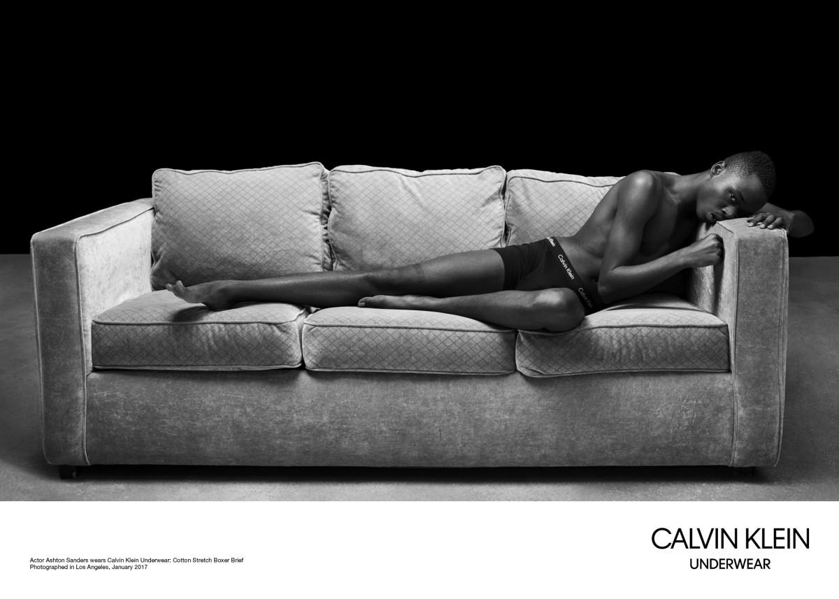f5d26f7502 Ashton Sanders for Calvin Klein Underwear. Photo  Willy Vanderperre Calvin  Klein