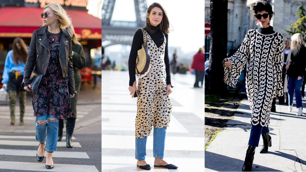 Three's a trend. Photos from left to right: Moeez/Fashionista, Chiara Marina Grioni/Fashionista, Imaxtree