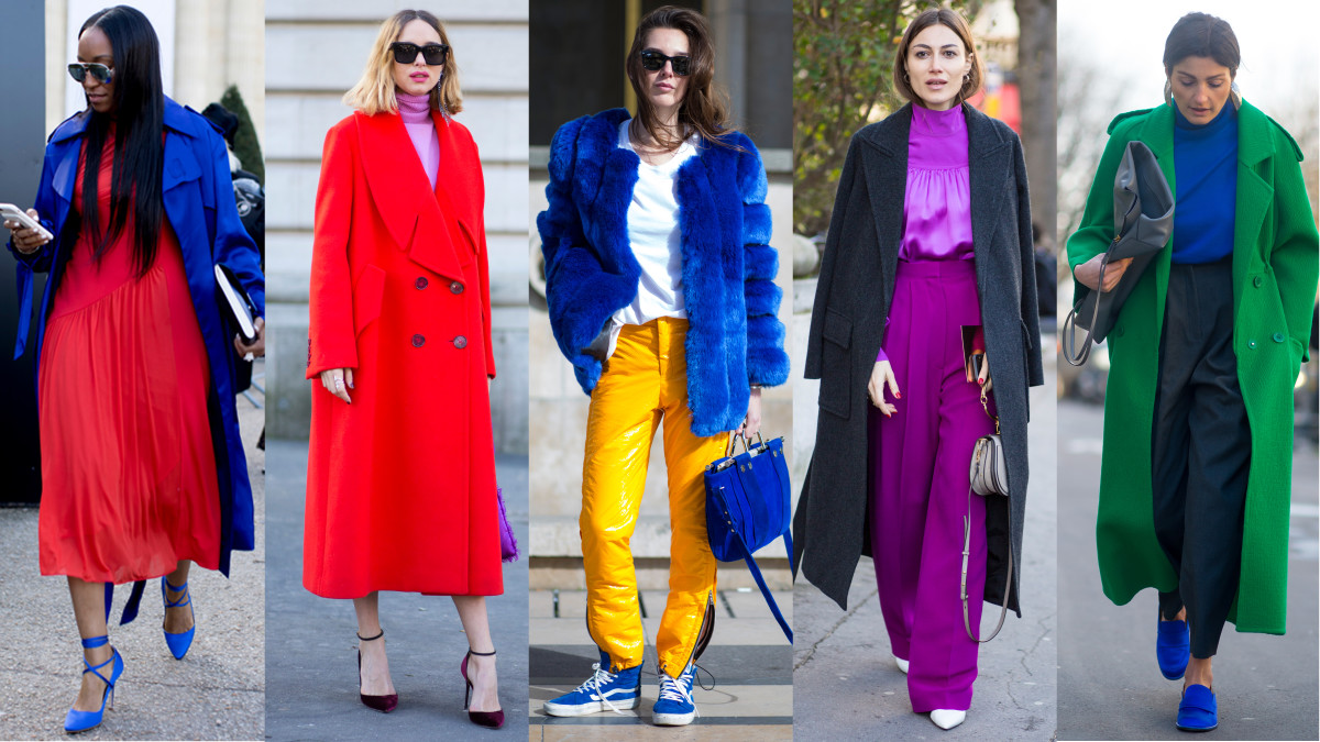 What is color blocking in fashion 75