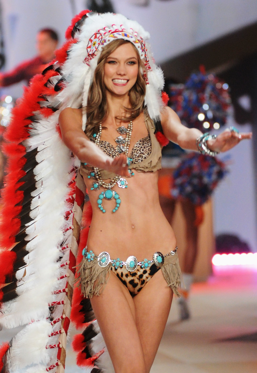 Karlie Kloss at the Victoria's Secret Fashion Show in 2012. Photo: Jamie McCarthy/Getty Images
