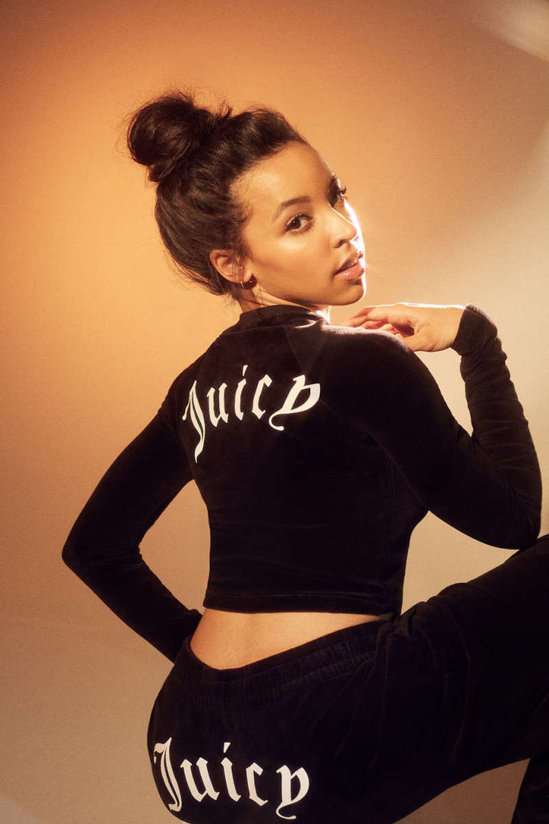1ba9b5bc5953 Tinashe for Juicy Couture. Photo  Juicy Couture for Urban Outfitters