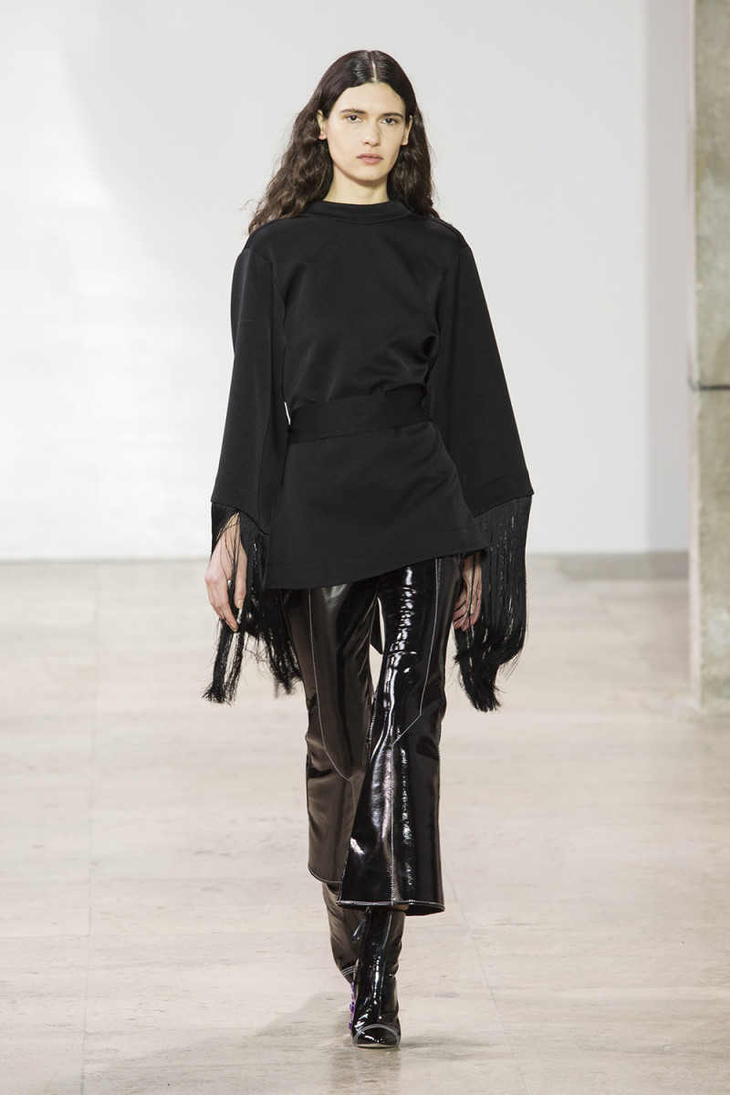 A look from the Ellery Fall 2017 Collection. Photo: Imaxtree