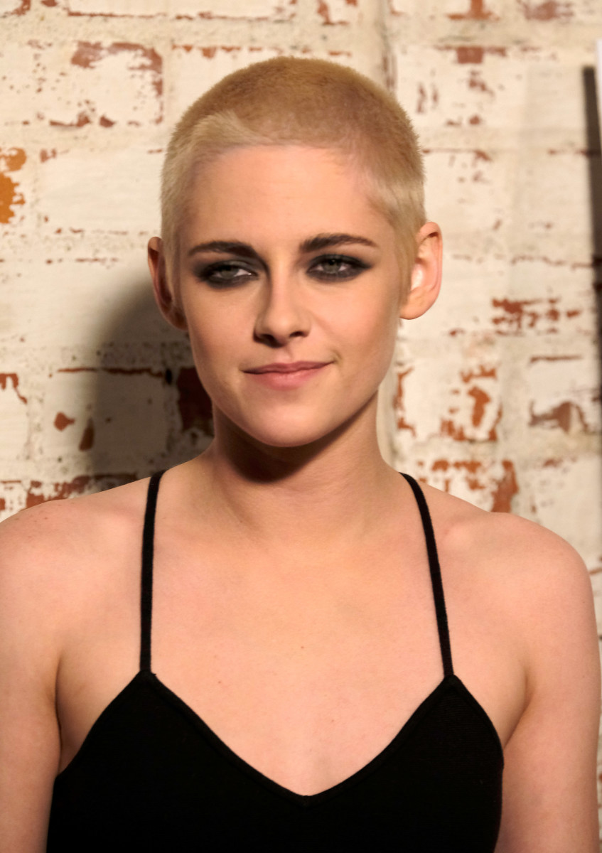 Look at Kristen Stewart's head! Photo: Frazer Harrison/Getty Images
