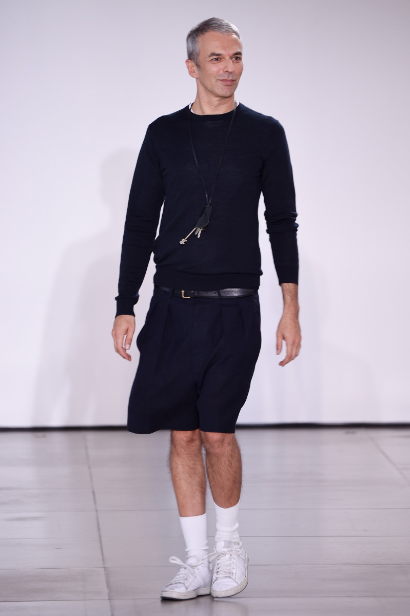 Rodolfo Paglialunga at the Jil Sander Spring2016 runway show. Photo: Pietro D'Aprano/Getty Images