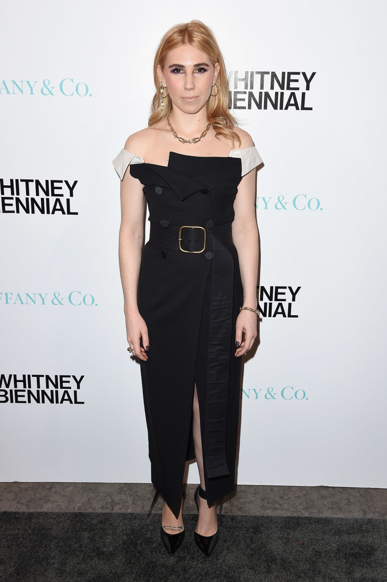 Zosia Mamet in Monse. Photo: Mike Coppola/Getty Images