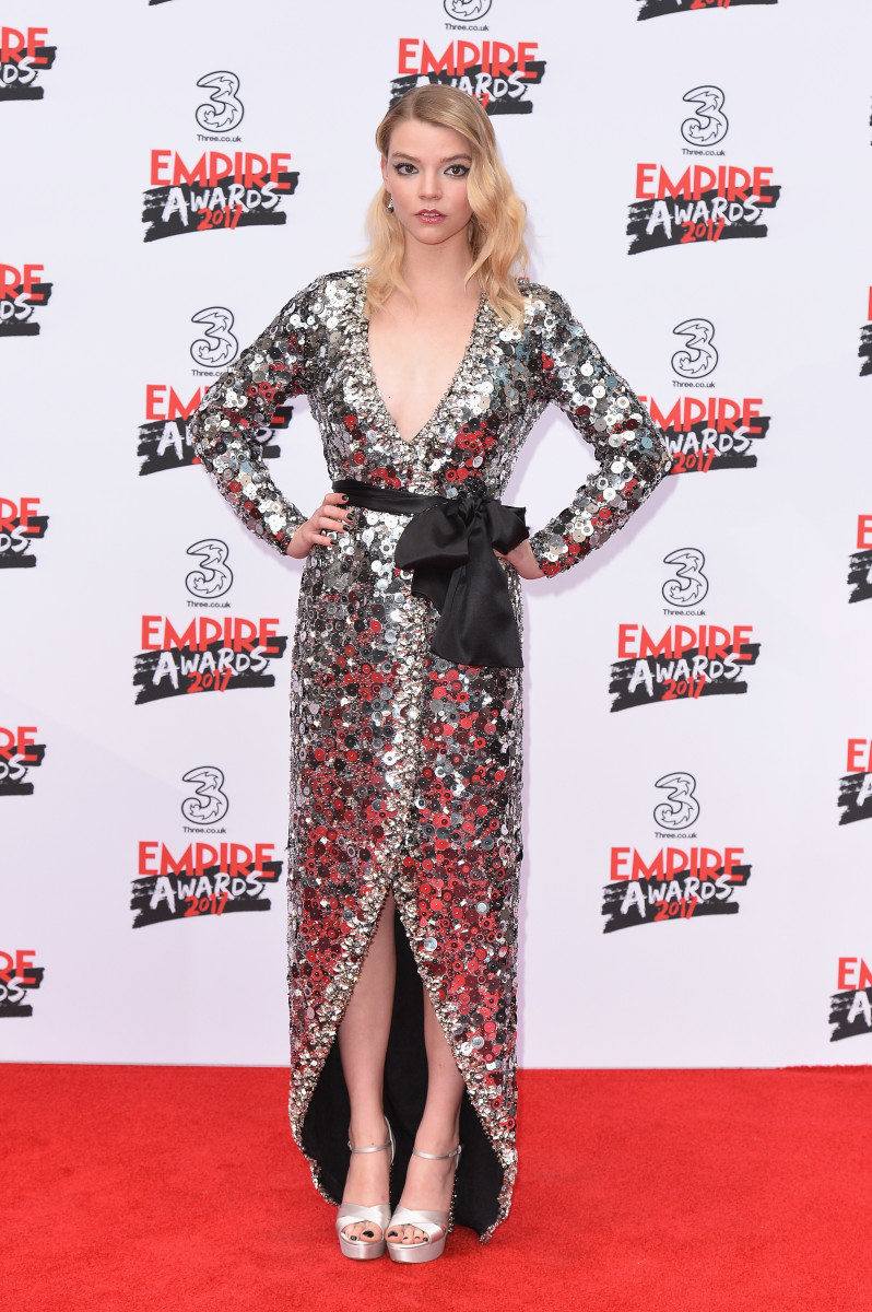 Anya Taylor-Joy in Miu Miu. Photo: Jeff Spicer/Getty Images