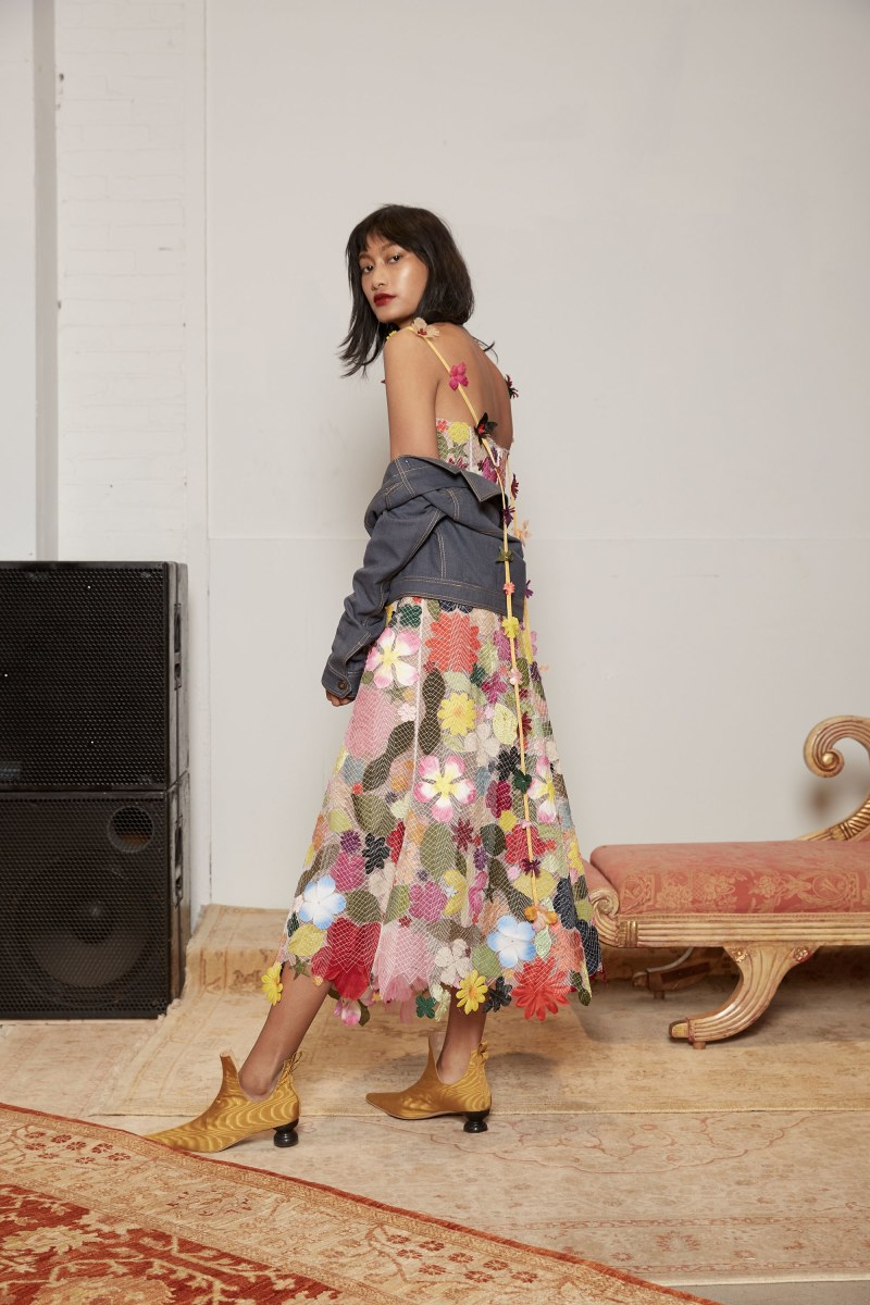 A look from the Rosie Assoulin Fall 2017 collection. Photo: Rosie Assoulin