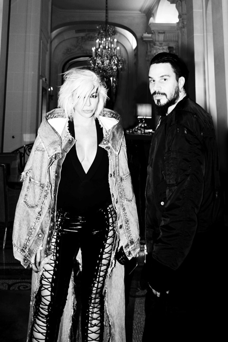 Joyce Bonelli and Ben Taverniti. Photo: courtesy of Unravel