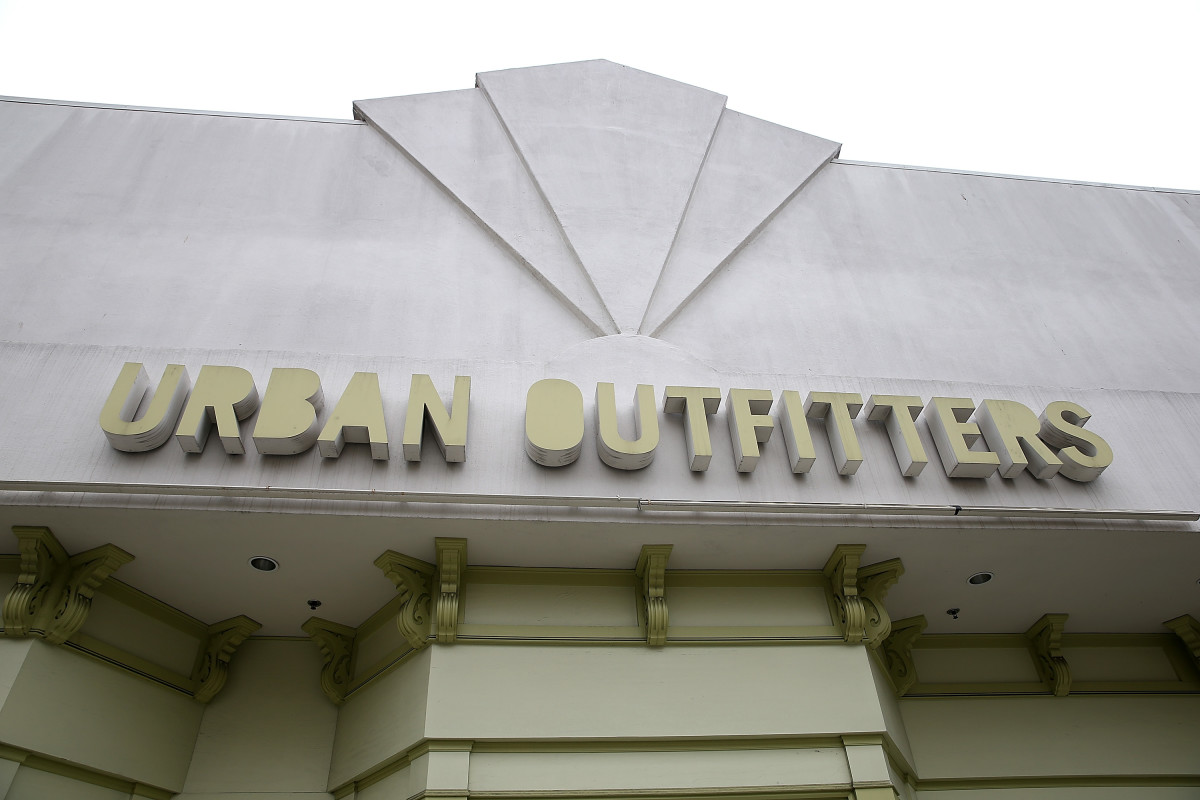 Urban Outfitters storefront in San Francisco. Photo: Justin Sullivan/Getty Images