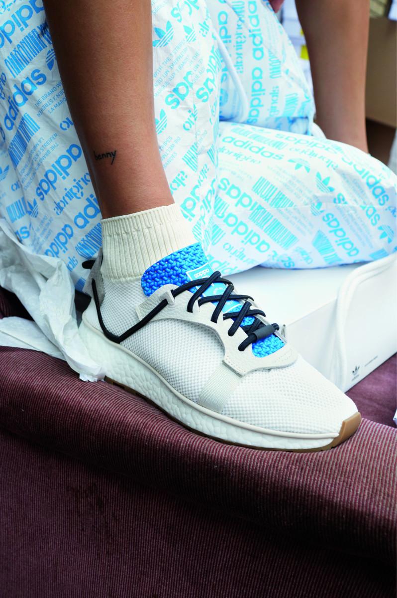 The Adidas Originals by Alexander Wang Run Clean Boost. Photo: Juergen Teller/Adidas Originals