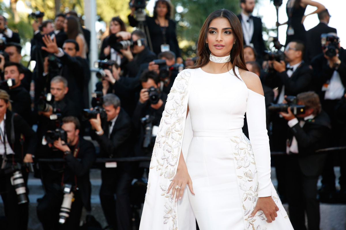Sonam Kapoor at the 2016 Cannes Film Festival. Photo: Tristan Fewings/Getty Images
