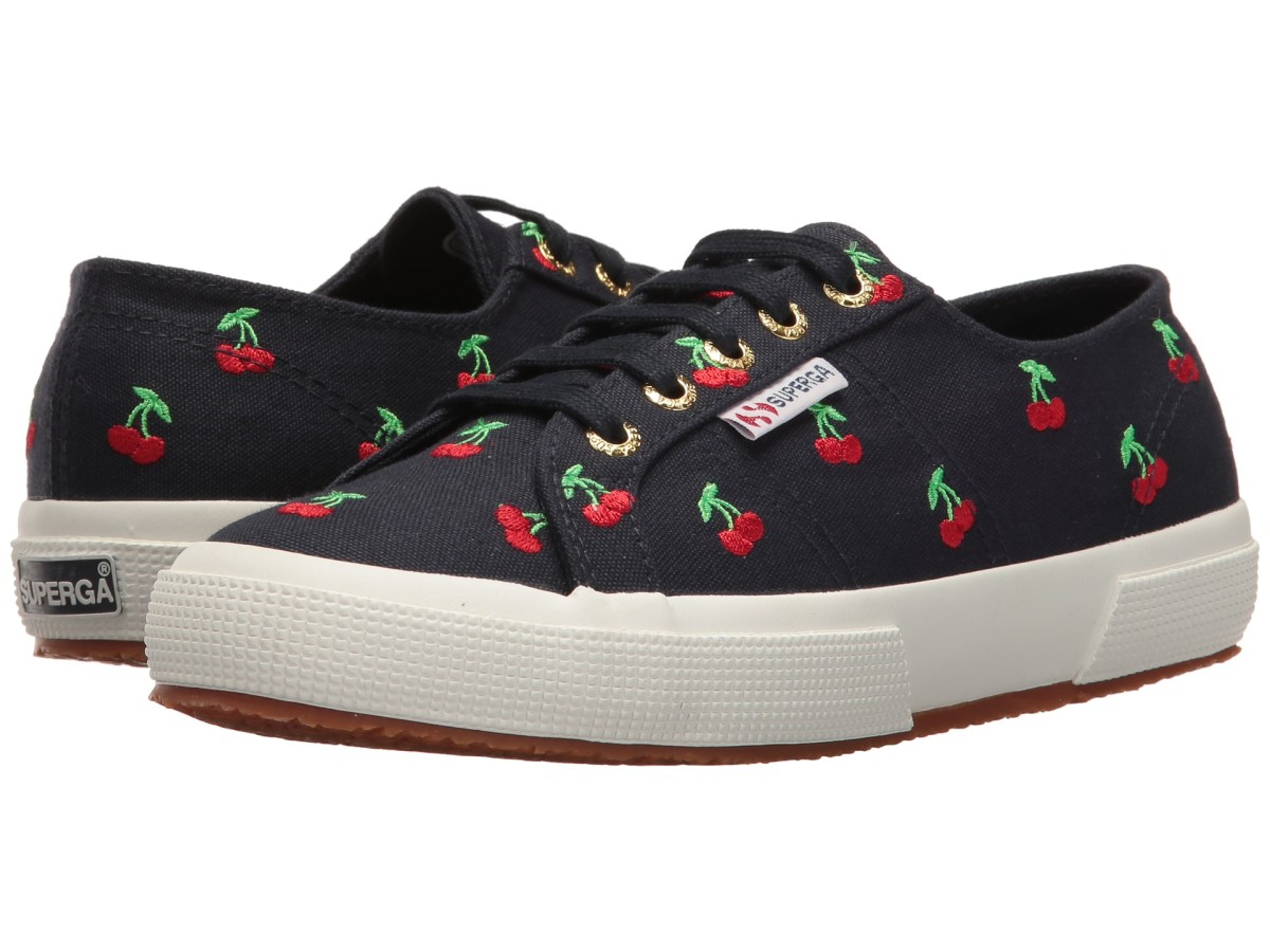 Superga 2750 embroidered sneakers, $75.99, available at Zappos.