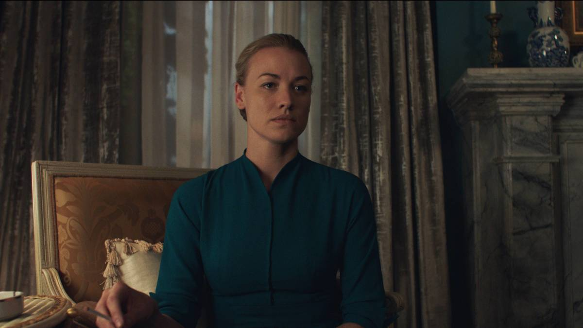Serena Joy (Yvonne Strahovski). Photo: Take Five/Hulu