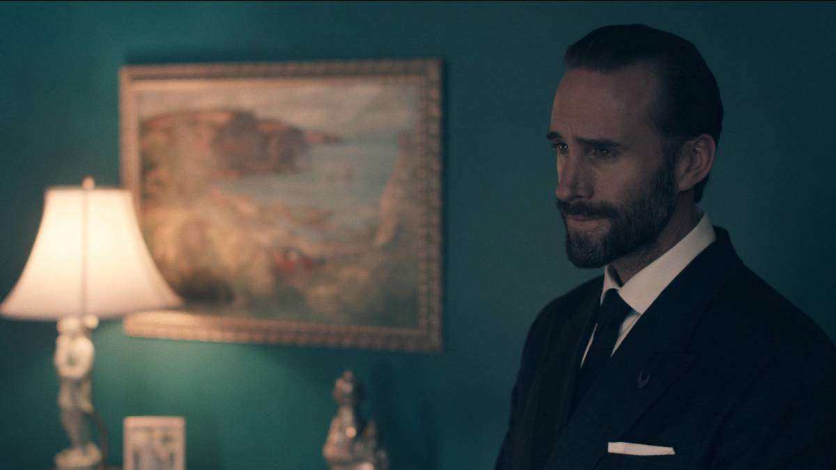 Commander Waterford (Joseph Fiennes). Photo: Take Five/Hulu