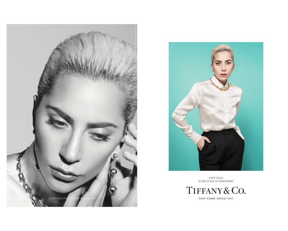 Chic Campaign For Tiffany Co