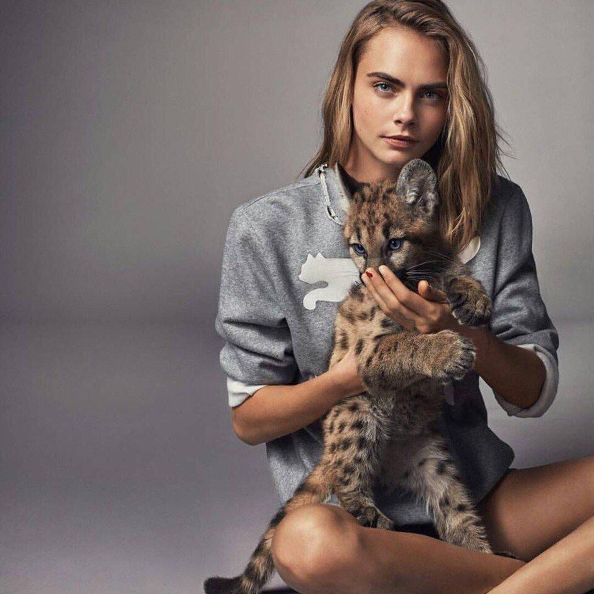 Cara Delevingne for Puma Spring 2017. Photo: Puma