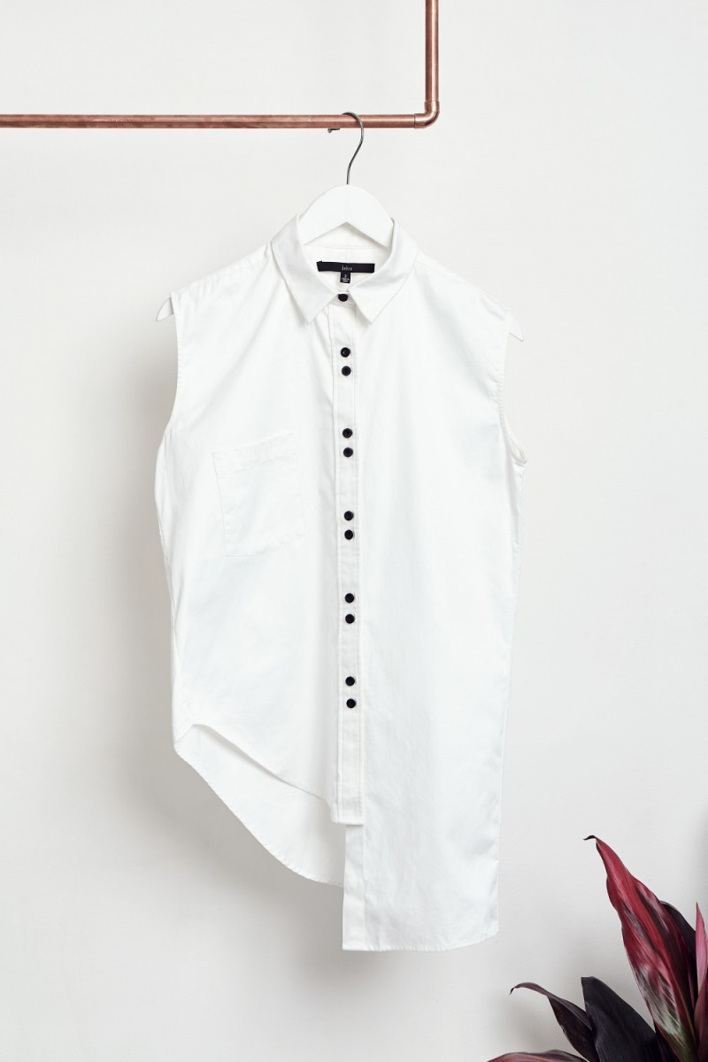 Behno Royce shirt, $225, available at Galerie LA