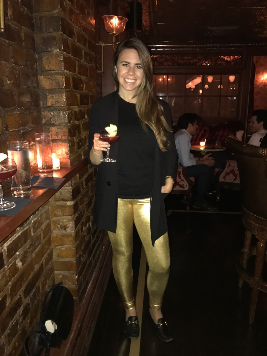 I Tried Wearing The Bold Bright Spandex Leggings Made