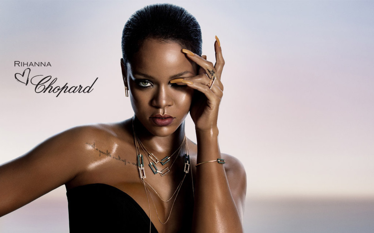 Rihanna for Chopard. Photo: Chopard
