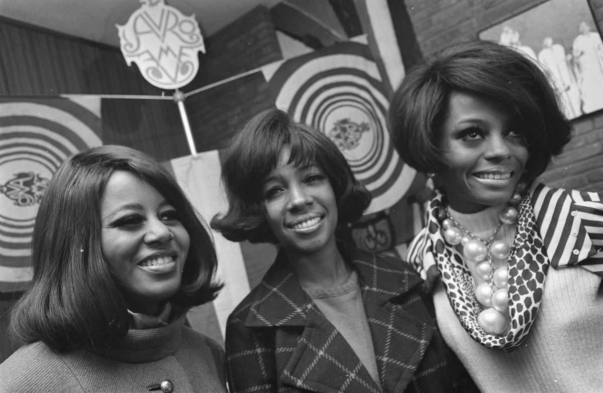 The Supremes in 1968. Photo: Wikimedia Commons