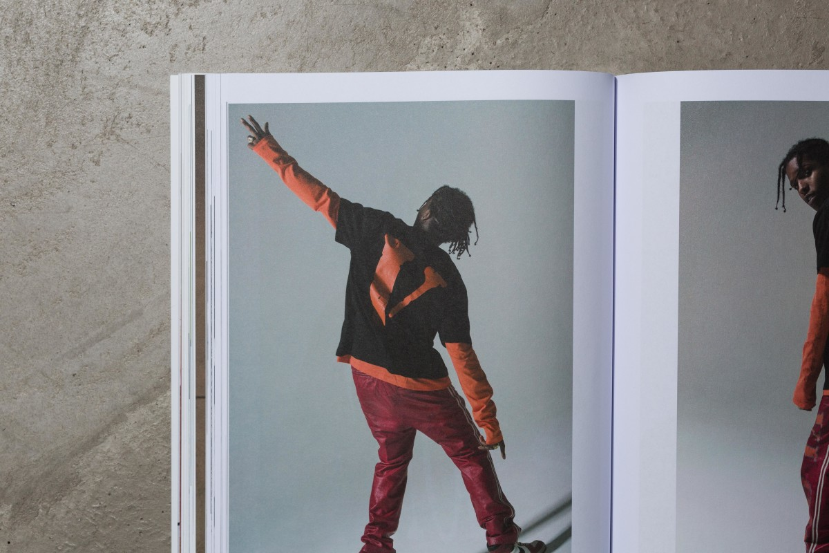 A$AP Rocky wearing Vlone and featured in Highsnobiety's Issue 13. Photo: Highsnobiety