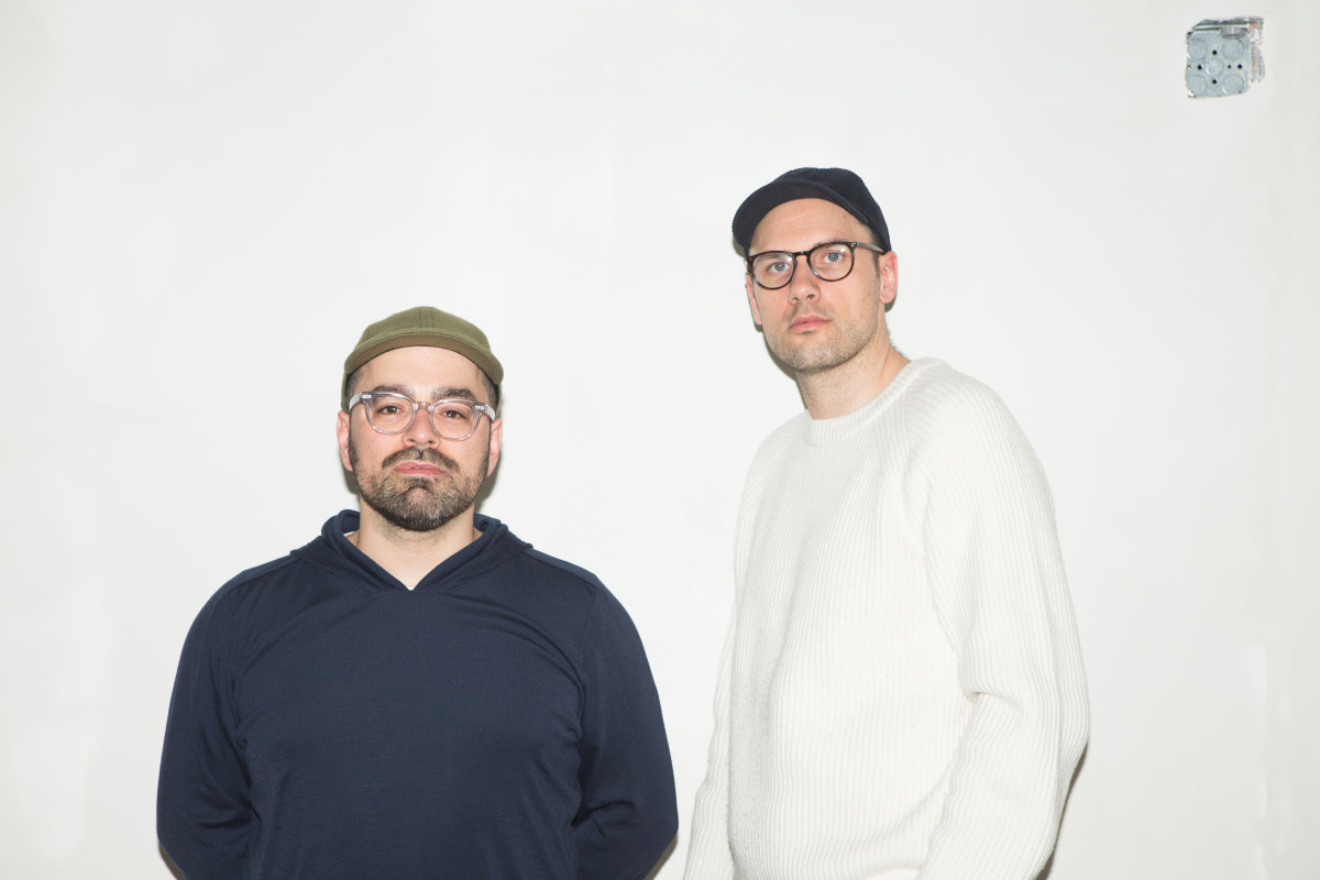 Jeff Carvalho (left) and David Fischer (right) of Highsnobiety. Photo: Highsnobiety