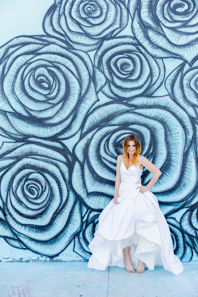 The Fashion Poet Anna Vasquez for Lovely Bride. Photo: courtesy Lovely Bride