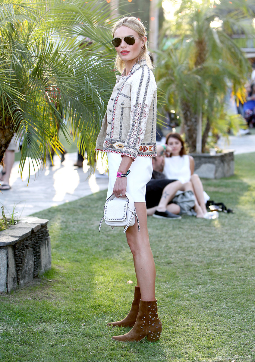 "Kate Bosworth is not afraid of ""dirt."" Photo: Rachel Murray/Getty Images for Coachella"