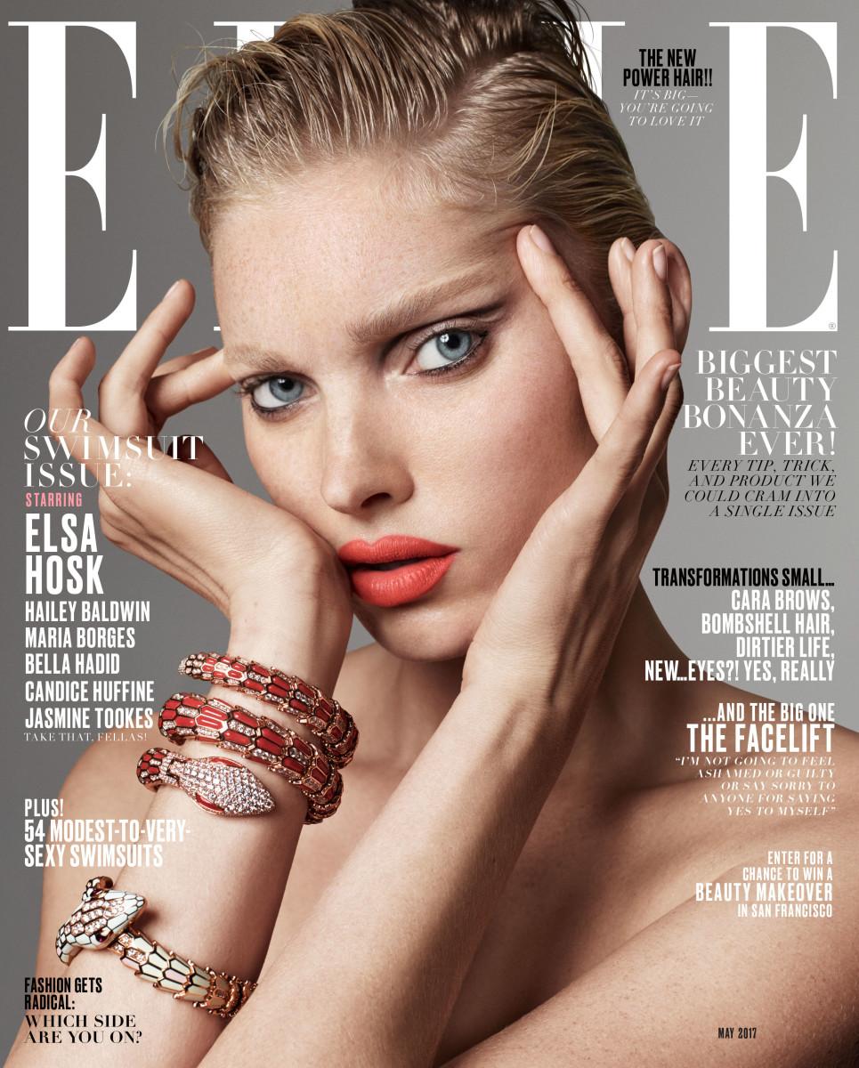 Elsa Hosk. Photo: Terry Tsiolis/Elle
