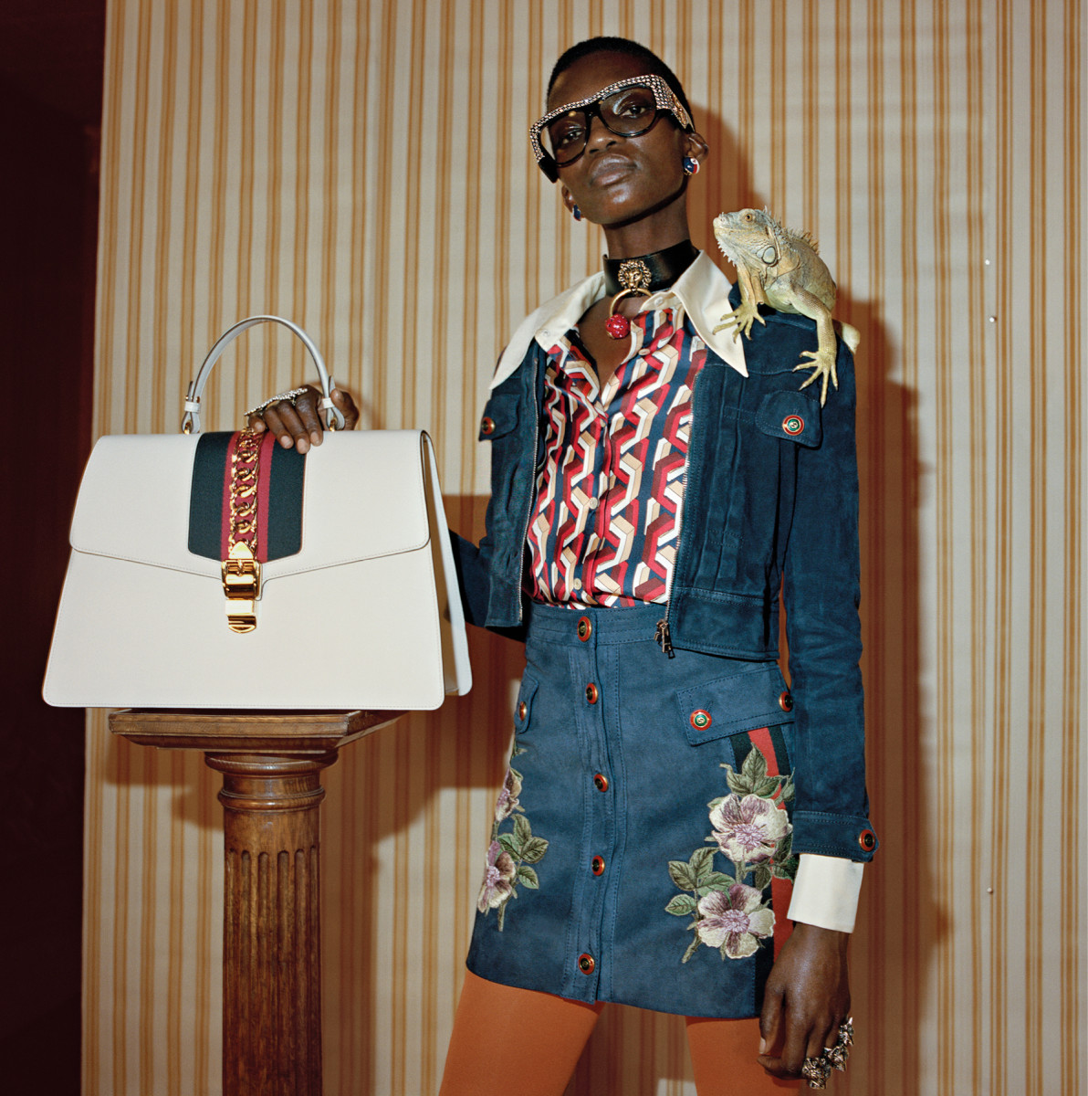 Gucci Pre-Fall 2017 ad campaign. Photo: Glen Luchford