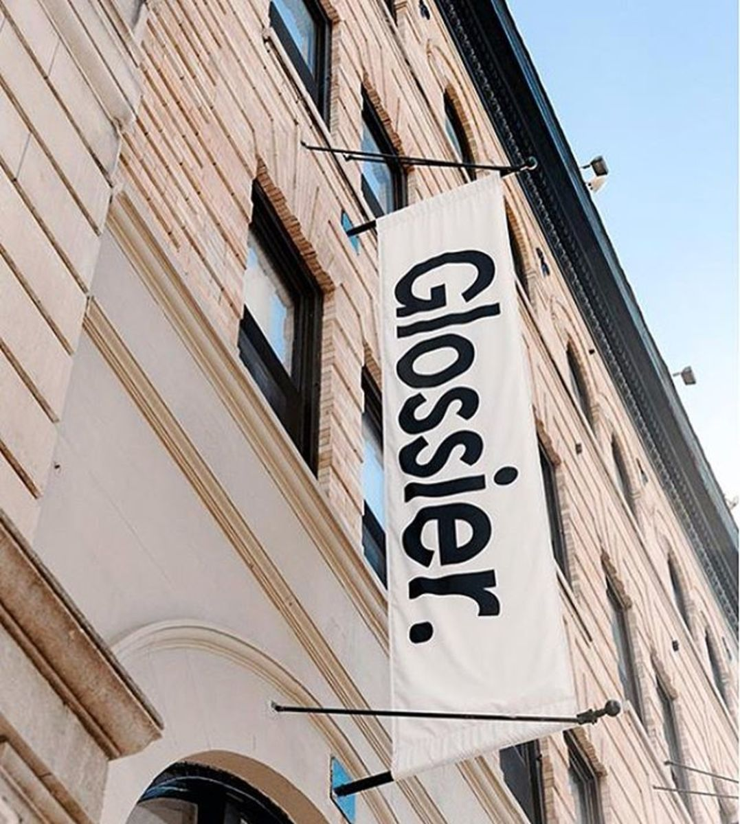 Glossier's current headquarters. Photo: @glossier/Instagram