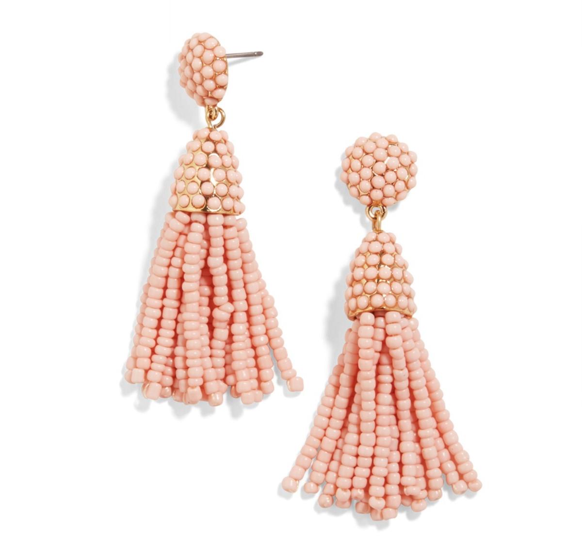 BaubleBar Mini Piñata Tassel Earrings, $32, available at BaubleBar.